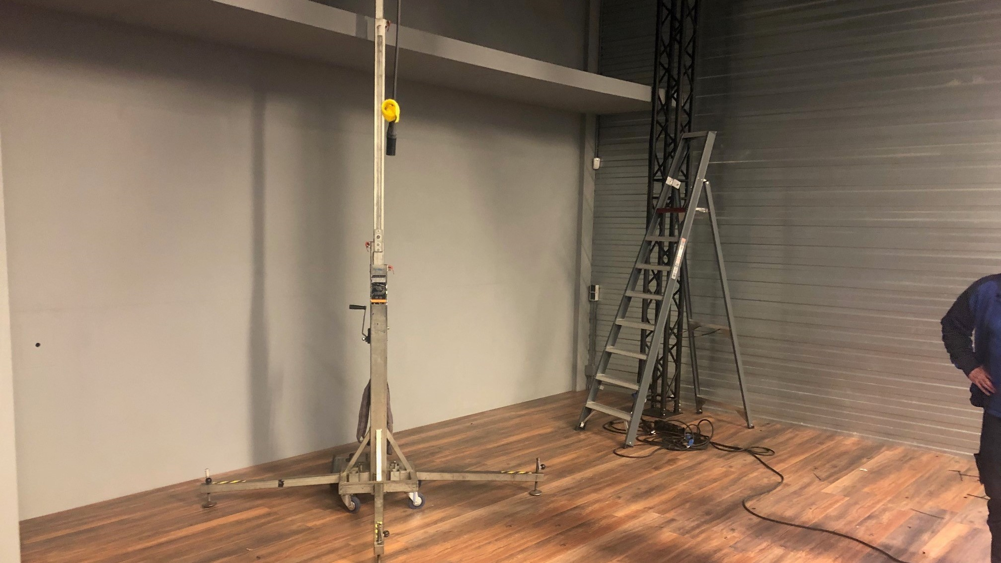 Nieuws Start opbouw Studio