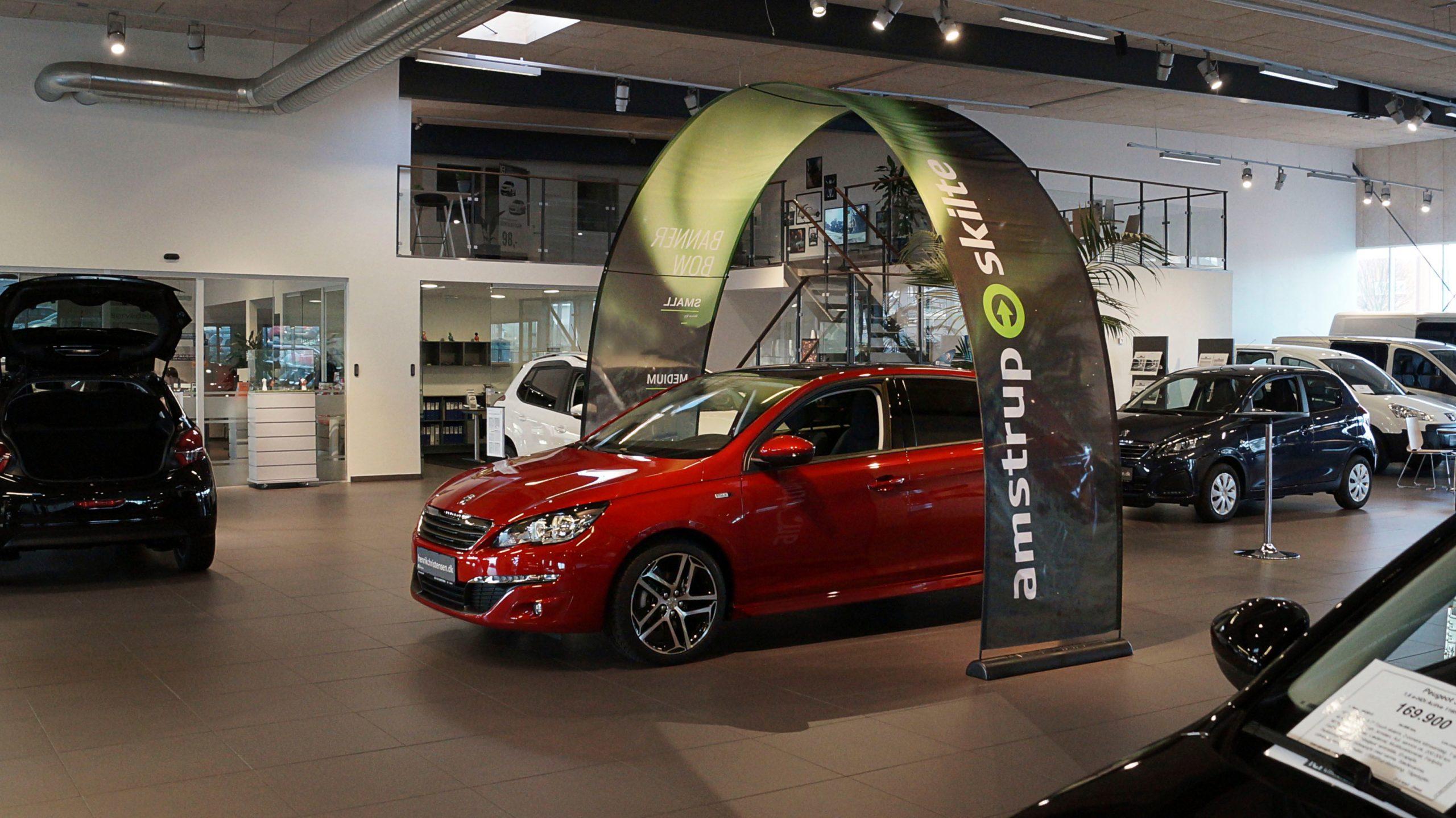 Bannerbow Indoor Audi
